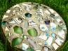 DIY Mosaic Garden Stone