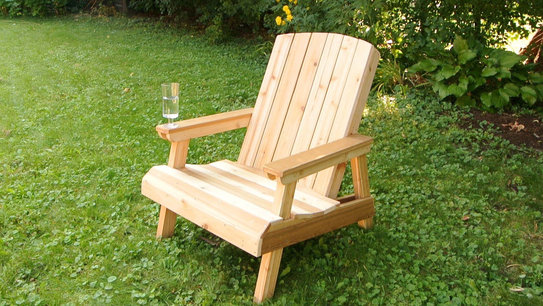 Wanna Build An Adirondack Chair For Your Patio Watch This