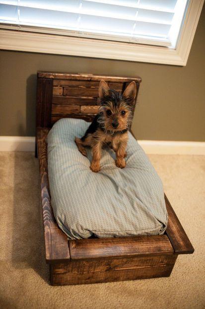 diy pallet dog beds