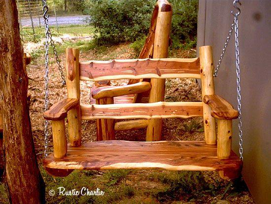 30 Incredible Log Furniture Project Ideas, Log Furniture Ideas