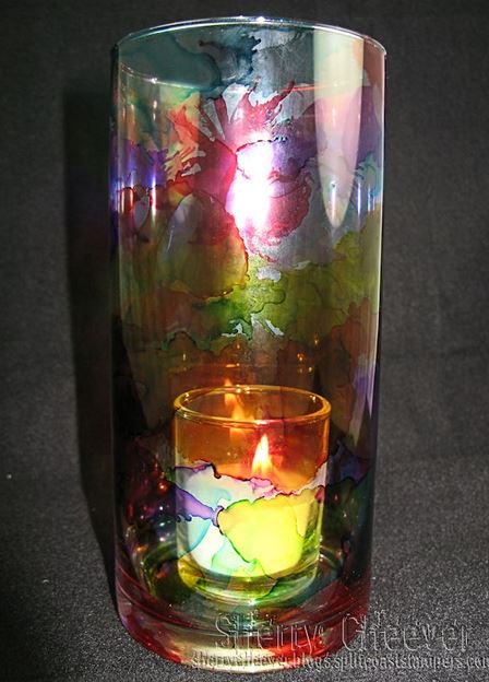 Diy Alcohol Ink Stained Glass Tutorial Gotta Love Diy