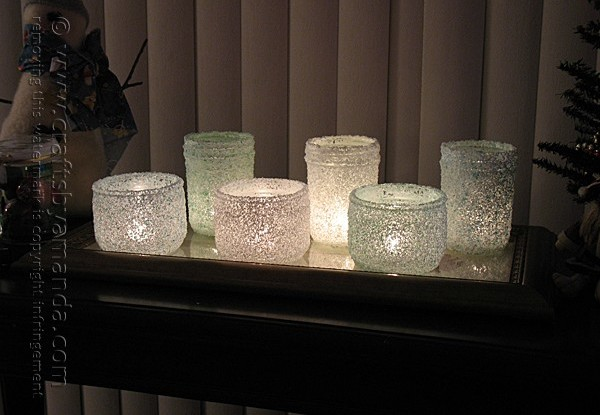diy epsom salt candle holders