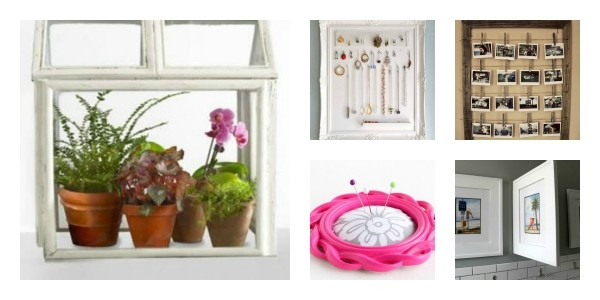 repurpose old picture frames