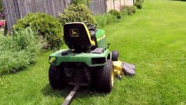 DIY Lawn Mower Hack