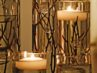 DIY Twig Candles