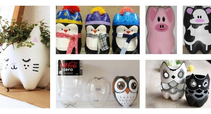 Arts And Crafts Plastic Bottles | Ithink Crafting