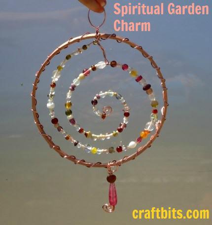 spiral garden charm