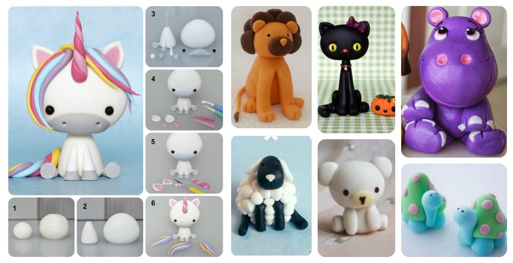 7 Super Cute Diy Polymer Clay Animals