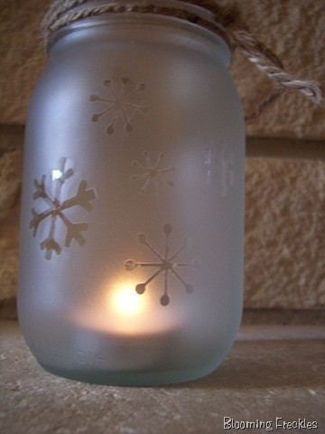 frosted glass luminaries