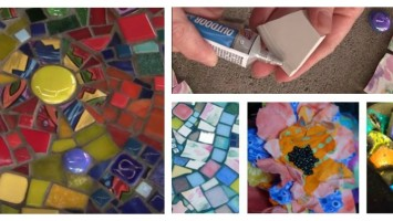 mosaic garden stepping stones