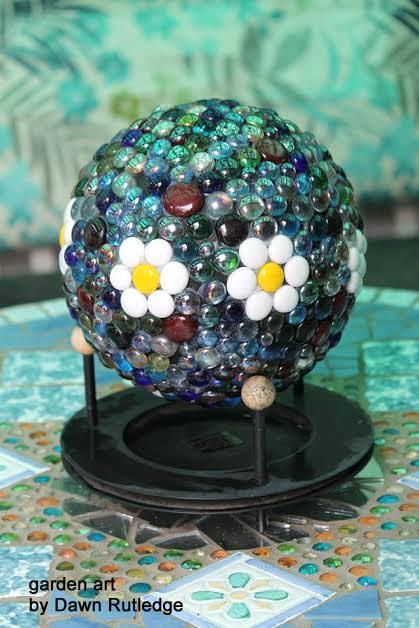 diy garden globes
