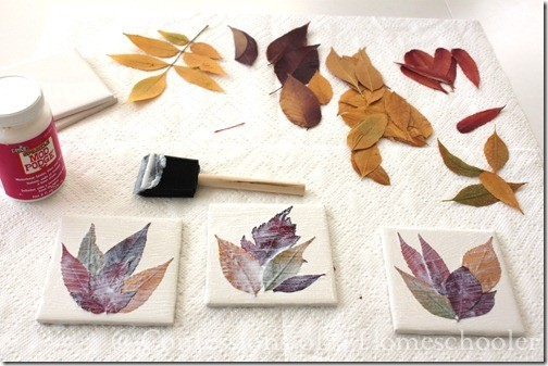 fall leaf craft projects