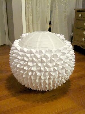 fortune teller paper lantern