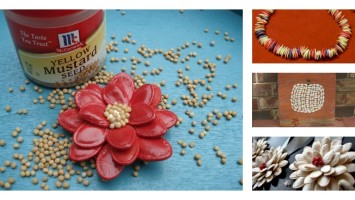 pumpkin seed craft projects