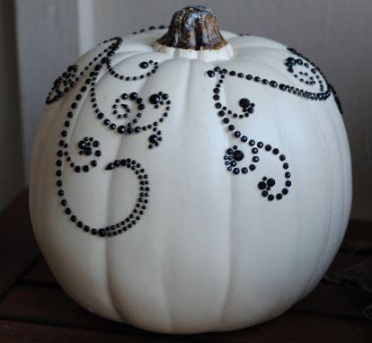sequined pumpkins