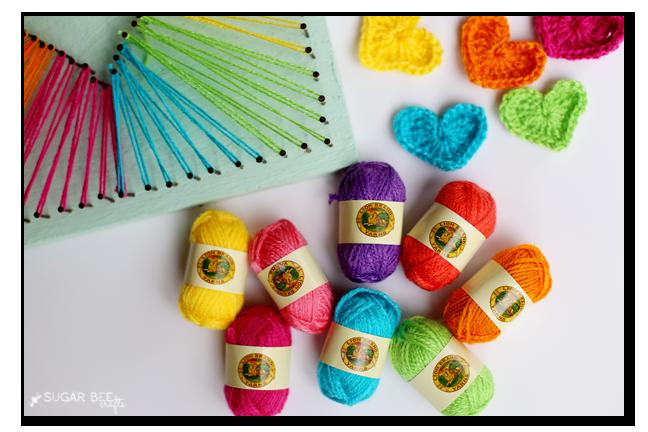 The secret to simple diy string art for Crochet crafts for kids