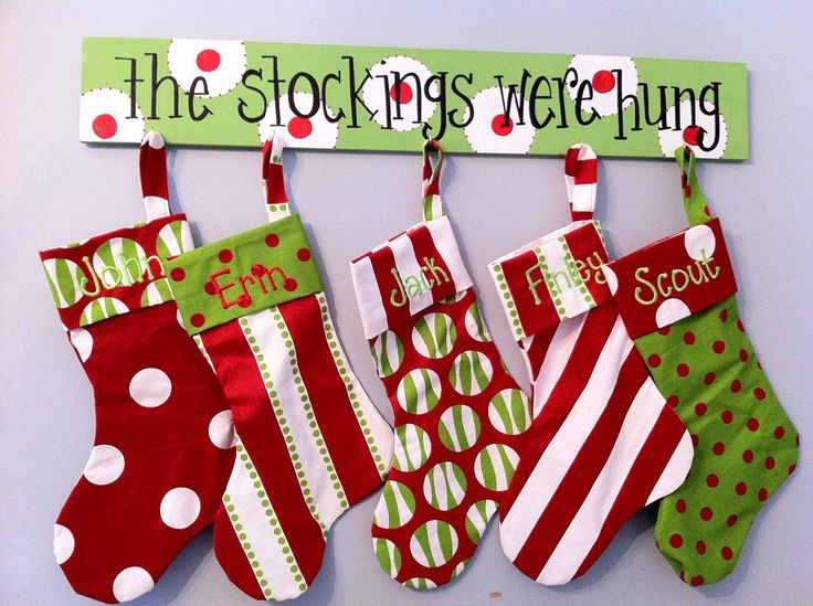 14 Creative Ideas For Diy Christmas Stocking Hangers