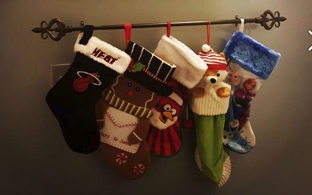 diy christmas stocking hangers