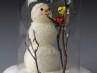 cloche snowman