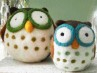 diy felted owls