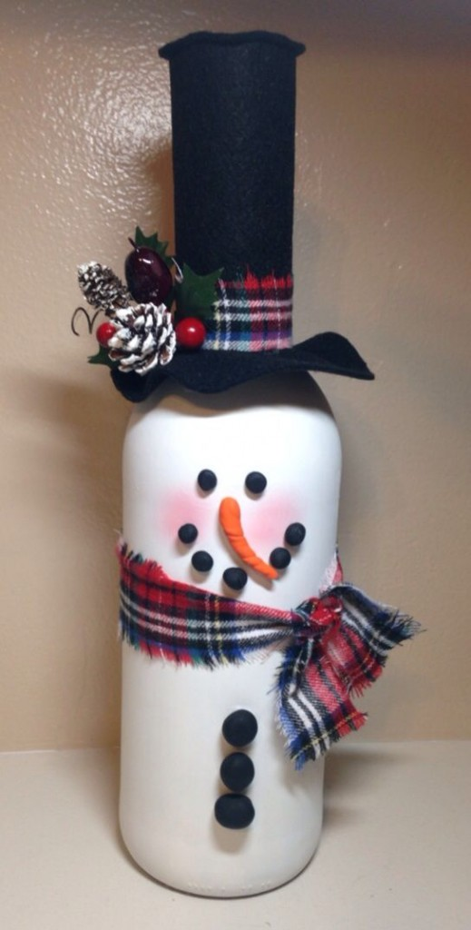 Christmas Wine Bottle Covers To Make