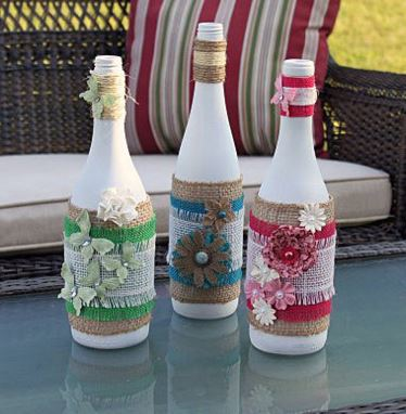 In Recent Posts I Have Shared Many Craft Ideas That Utilize The Use Of Recycled Wine Bottles From Making Lighted Christmas To Epsom Salt