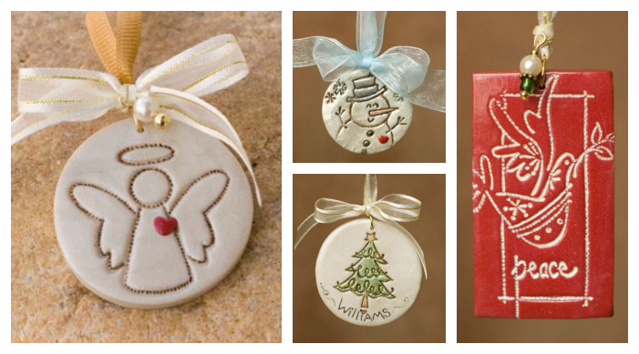 Gorgeous DIY Polymer Clay Christmas Ornaments
