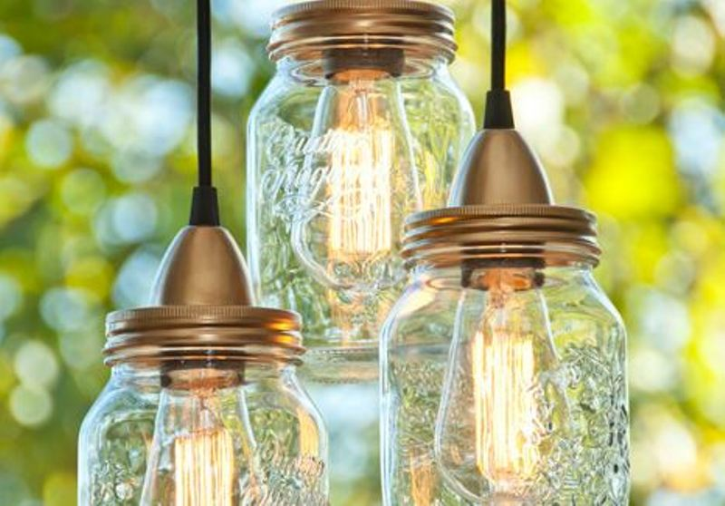 How to make dazzling mason jar lanterns - Fabriquer son luminaire ...