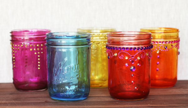 How To Decorate Glass Jars Mesmerizing How To Make Beautiful Decorative Diy Holiday Mason Jars Design Inspiration