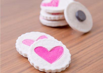 valentine heart magnets tutorial